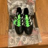 Adidas Shoes | Adidas Kids Soccer Goletto Firm Ground Cleats Shoe | Color: Black/Green | Size: 4.5 (Kids)