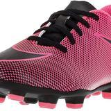 Nike Shoes | Boy'S Jr Bravata Ii Fg Soccer Cleats | Color: Black/Pink | Size: 11b