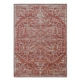 Sonoma Goods For Life Red Reversible Ethnic Rug, 5X7 Ft