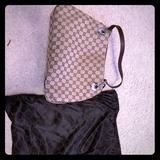 Gucci Bags | Authentic Gucci Bag. Perfect Condition. No Stains | Color: Brown/Tan | Size: Os
