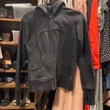 Lululemon Athletica Jackets & Coats | Black Classic Lulu Lemon Scuba Hoodie | Color: Black | Size: 6