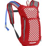 CamelBak Mini M.U.L.E. Kids' Hydration Backpack - 50 oz Racing Red Check