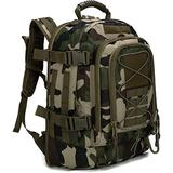 Paladins Backpack Large Work Backpack Military Camo Backpack Molle System Waterproof for Men (French Camo)