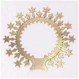 """Classical Church Goods 10"""" Halo of Stars for Mary Statue - Immaculate Conception - Ringed Halo - Solid Brass - (CCG-356)"""