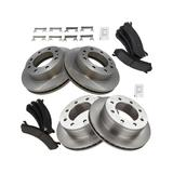 2007 Chevrolet Silverado 3500 Classic Front and Rear Brake Pad and Rotor Kit - TRQ