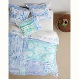 Anthropologie Bedding | Anthropologie Kassita Duvet Set | Color: Blue/Green | Size: Twin