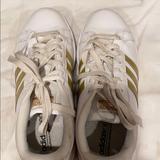 Adidas Shoes | Adidas Original Superstar | Color: Gold | Size: 8