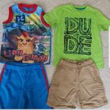 Disney Bottoms   5t Boys Sets   Color: Blue/Green   Size: 5tb