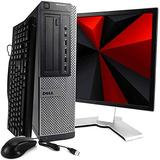 "Dell OptiPlex 7010 Business Computer Desktop PC - Intel Quad Core i5 3.2GHz, 16GB RAM, 512GB SSD, Windows 10 Pro, Microsoft Office 365 Personal, 22"" LCD Monitor, DVD, Keyboard, Mouse, WiFi (Renewed)"