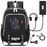 SevenJuly1 Men's Ladies' Bag Backpack School Bag Travel Bag Pc Bag Resident College Bag with USB Charging Port