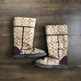 Coach Shoes   Authentic Coach Ugg Style Boots S8. Nikole   Color: Brown   Size: 8