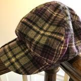 Nine West Accessories   Adorable Purple Plaid Nine West Hat!   Color: Gray/Purple   Size: Os