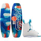 Hyperlite Divine Wakeboard w/Allure Bindings Womens Sz 134cm/(One Size)