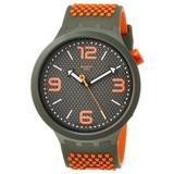 Bbblood Quartz Grey Dial Mens Watch - Gray - Swatch Watches