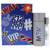 212 Men NYC by Carolina Herrera for Men - 2 Pc Gift Set 3.4oz EDT Spray, 0.33oz EDT Spray