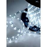 """CBConcept Cool White 150 Feet 110V-120V 2-Wire 1/2"""" LED Rope Light, Christmas Lighting, Indoor / Outdoor rope lighting"""