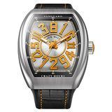 Franck Muller Vanguard Orange Crazy Hours Watch
