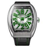 Franck Muller Vanguard Green Crazy Hours Watch