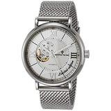 Christian Van Sant Men's Somptueuse Limited Edition Automatic Stainless Steel Strap, Silver, 22 Casual Watch (Model: CV1140)