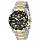 Invicta Women's Pro Diver Quartz Watch with Stainless Steel Strap, Two Tone, 20 (Model: 30483)