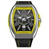 Franck Muller Vanguard Yellow Racing Mens Watch