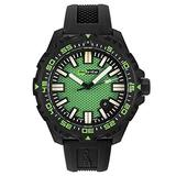 Isobrite Afterburner Series Green Dial Watch ISO4002