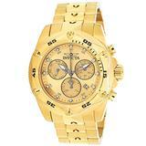 Invicta Pro Diver Chronograph Quartz Gold Dial Men's Watch 31607