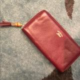 Gucci Bags | Authentic Gucci Red Leather Wallet. Greatcondition | Color: Red | Size: Os