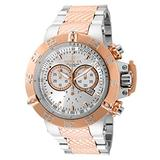 Invicta Men's Subaqua Noma III Quartz Diving Watch with Stainless Strap, Steel, Rose Gold, 28 (Model: 32467)