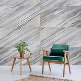 Sample - KinglySlate Flexible Natural Stone Veneer Sheet Carrara Marble Sandstone - Sample