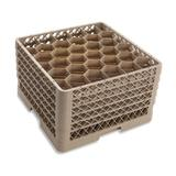 Vollrath TR12HHHHHH Traex? Rack Max Full Size Glass Rack w/ (30) Compartments - (6) Extenders, Beige