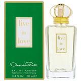 Oscar De La Renta Live In Love By Oscar De La Renta 3.4 OZ Eau De Parfum for Women's