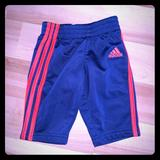 Adidas Bottoms   Adidas Track Pants Boys 3months   Color: Blue/Orange   Size: 0-3mb
