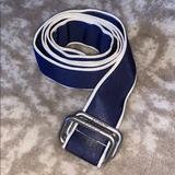 J. Crew Accessories | J. Crew Belt | Color: Blue/White | Size: Os