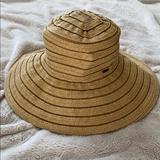 Nine West Accessories   Nine West Beach Hat!   Color: Brown/Tan   Size: Os