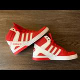 Adidas Shoes   6.5 Adidas Red Hardcourt Block High Tops   Color: Red/White   Size: 6.5