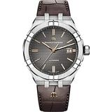 Maurice Lacroix Men's 42MM Automatic Anthracite Dial Strap Watch
