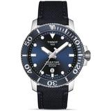 Seastar 1000 Automatic Blue Dial Mens Watch T1204071704101 - Blue - Tissot Watches