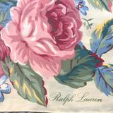 Ralph Lauren Other | Beautiful Ralph Lauren Floral Silk Scarf, Square | Color: Cream/Green/Pink | Size: Os
