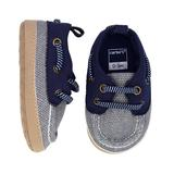 Baby Boy Carter's Navy Boat Crib Shoes, Infant Boy's, Size: 9-12Months, Blue