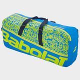 Babolat Duffel Classic Tennis Bags Blue/Yellow Lime