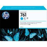HP 761 Cyan Designjet Ink Cartridge (Dye, 400 ml) CM994A