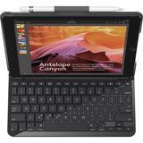 """Logitech SLIM FOLIO Keyboard Case for 9.7"""" iPad 5th/6th Gen 920-009017"""