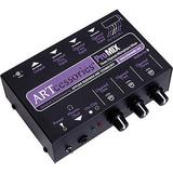 ART ProMIX 3-Channel Portable Mono Microphone Submixer PROMIX