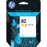 HP 82 Yellow Ink Cartridge (69ml) for DJ 500SP & 800SP Printers C4913A