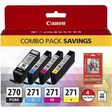 Canon PGI-270/CLI-271 CMYK 4-Cartridge Combo Pack 0373C005
