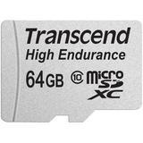Transcend 64GB High Endurance microSDXC Memory Card TS64GUSDXC10V