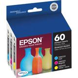 Epson 60 Color Multi-Pack Ink Cartridges for Select Stylus Printers T060520-S
