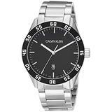 Calvin Klein Compete Men's Analogue Stainless Steel Bracelet Watch