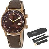 Seastrong Diver Heritage Automatic Brown Di Watch -525br4h4 - Brown - Alpina Watches
